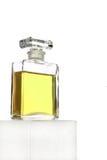 De Fles van het Parfum van het glas van het kristal Stock Afbeelding
