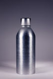 De fles van het staal Stock Afbeeldingen