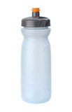 De Fles van het water die met het knippen van weg wordt geïsoleerdk Stock Fotografie