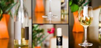 Een wijncollage Royalty-vrije Stock Foto