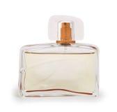 De fles van Parfum stock foto