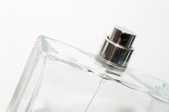 De fles van Parfume Stock Fotografie