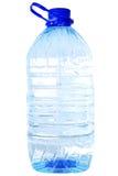 De fles van vijf liter ontruimt water Stock Foto