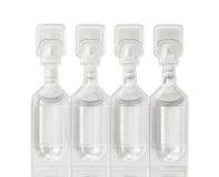 De flesjes van het oogdalingen van het smeermiddel royalty-vrije stock fotografie