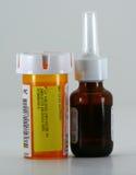 De Flessen van de geneeskunde Royalty-vrije Stock Afbeeldingen