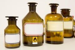 De flessen van de geneeskunde royalty-vrije stock afbeelding