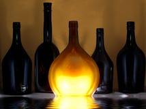 De flessen van de mysticus Royalty-vrije Stock Foto
