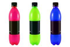 De flessen van de soda Royalty-vrije Stock Foto's