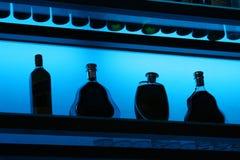 De Flessen van de staaf Stock Foto