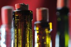 Wijnflessen. royalty-vrije stock foto
