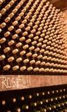 De flessen van de wijn Royalty-vrije Stock Foto