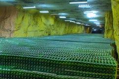 De flessen van de wijnstok Royalty-vrije Stock Afbeeldingen
