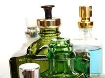 De flessen van het parfum Stock Afbeelding