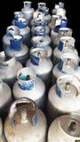 De Flessen van het propaangas Royalty-vrije Stock Fotografie