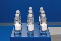 De flessen van het water Royalty-vrije Stock Fotografie