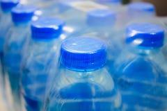 De flessen van het water Royalty-vrije Stock Foto's