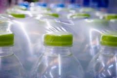 De flessen van het water Royalty-vrije Stock Foto