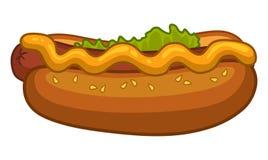 De flessen van de ketchup en van de mosterd op achtergrond vector illustratie
