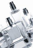 De flessen van parfums Stock Foto