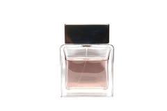 De flessen vierkante vorm van het parfum. Royalty-vrije Stock Foto