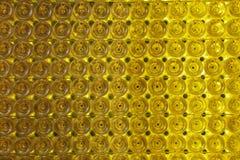 De flessenmuur van de wijn Stock Fotografie