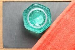 De flessenscène van het haargel Royalty-vrije Stock Foto