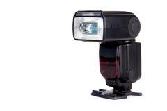 De Flits Speedlight van de camera Stock Afbeeldingen