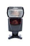 De flits van de camera speedlight Royalty-vrije Stock Foto's
