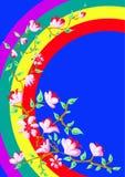 De Flora van de regenboog Royalty-vrije Stock Foto