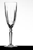 De fluit van Champagne stock afbeeldingen