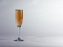 De fluit van Champagne Stock Foto's