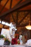 De fluit van Champagne Stock Fotografie