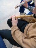 De fluit van het riet Stock Foto's