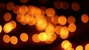 De focused, bokeh or blur candle lighting abstract Background. stock video footage