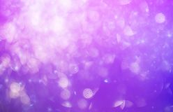 De focused bokeh light, abstract background at night photo stock images
