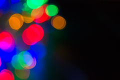 De focused lights background Stock Photos