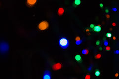 De focused lights  background Royalty Free Stock Images