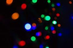 De focused lights  background Stock Image