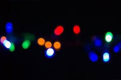 De focused lights  background Stock Photography