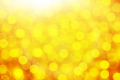 De-focused yellow background Royalty Free Stock Image