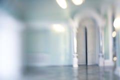 De-focuses business center interior. Blur. Royalty Free Stock Images