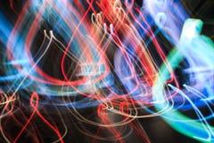 De-fokuserat ljus arkivfoton