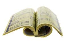 De Folder van de telefoon stock afbeeldingen