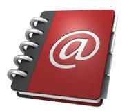 De folder van Internet Stock Afbeeldingen
