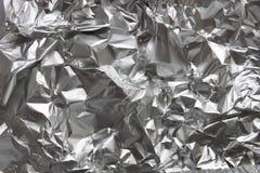 De folie van het aluminium Stock Afbeelding