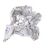 De folie van het aluminium Stock Afbeeldingen
