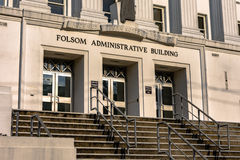 De Folsom Administratieve Bouw Stock Fotografie