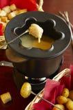 De fondue van de kaas Stock Fotografie