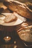De fondue van de kaas Stock Afbeeldingen