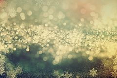 De Fonkelende achtergrond van Kerstmis Royalty-vrije Stock Fotografie